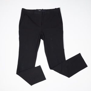 Theory Hartsdale Wool Blend Stretch Cropped Pants